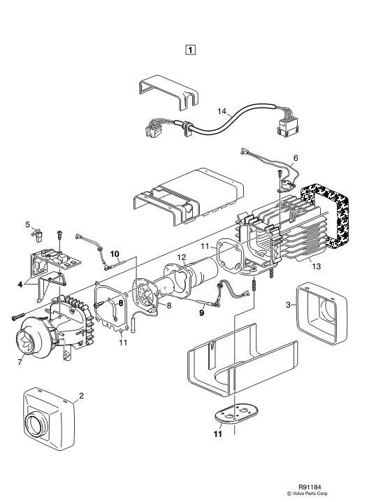 Volvo D13 Sensor Locations